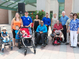 Accessibility Presentation at the Civic Centre