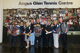 Angus Glen Tennis Centre Opening
