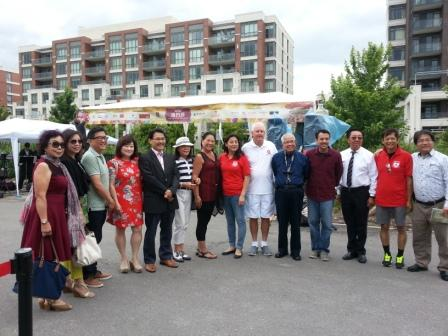 Community Event in Downtown Markham