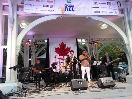 Markham Jazz Festival at Unionville Bandstand