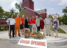 Opening of the Stiver Mill