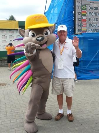 Pan Am Games at Angus Glen GC with Patchi