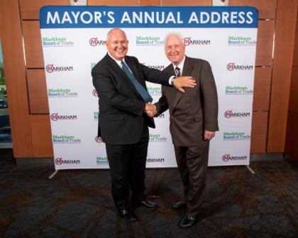 At the Mayor's Annual Address