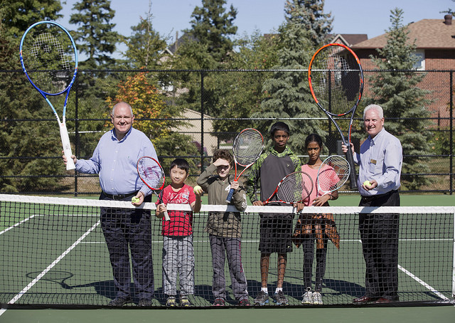 New Tennis courts in South Unionville