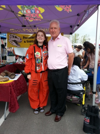 With Keeley from Stem Kids Rock