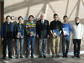 Student Award Winners at the Civic Centre