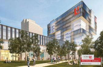 Image of Proposed York University Campus in Markham
