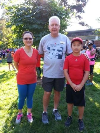 At the Terry Fox Run 2018