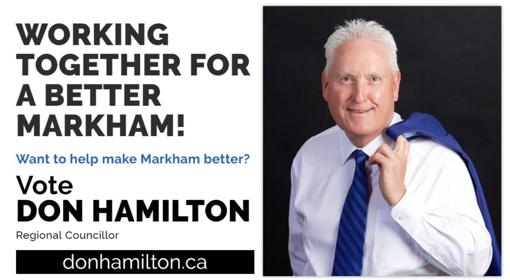 Vote Don Hamilton card