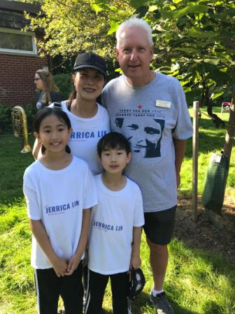 Don with Jerrica Lin and Family at Terry Fox Run 2018