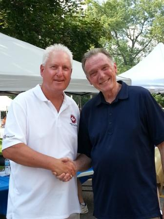 At the Thornhill Village Festival with Peter Kent