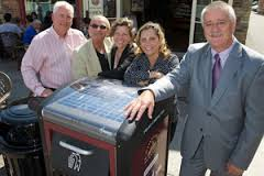 Introduction of Big Belly Recycling Bins