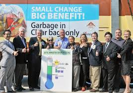 Garbage reduction initiative