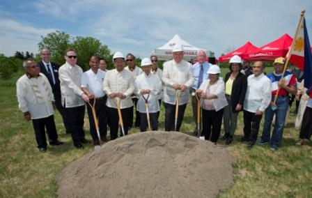 Rizal Park Opening in Box Grove