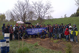 Tree Planting in the Rouge