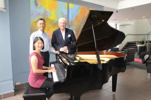 With Piano Donors at the Flato Markham Theatre